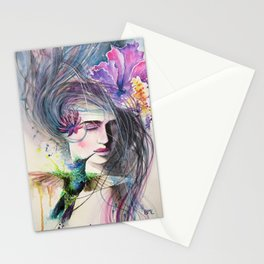 The Hummingbird Kiss Stationery Cards