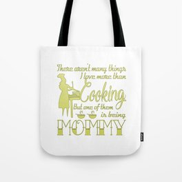 Cooking Mommy Tote Bag