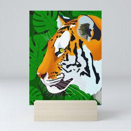 Jungle Tiger Mini Art Print
