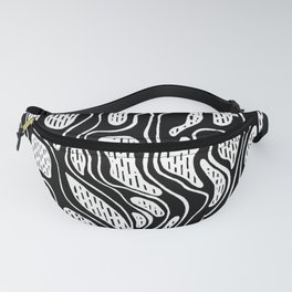 Black and white Roots INK Fanny Pack