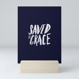Saved by Grace x Navy Mini Art Print
