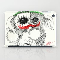 gizmo iPad Cases featuring GIZMO JOKER by John McGlynn