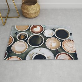 But First, Coffee II Rug