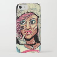 tank girl iPhone & iPod Cases featuring Tank Girl by N3RDS+INK