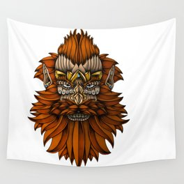Ornate Dwarf full colored Wall Tapestry