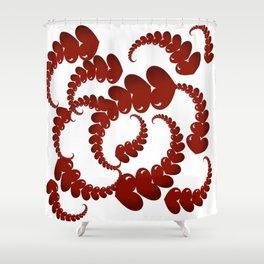 Heartshape design Shower Curtain