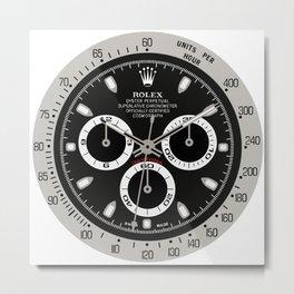Rolex Cosmograph Daytona Face - 116520 Metal Print