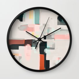 Abstract Painting No. 7 Wall Clock