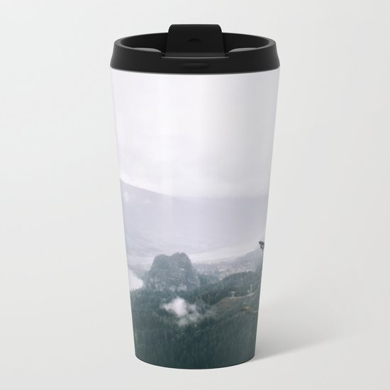 Columbia River Gorge VI Metal Travel Mug