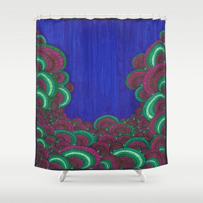 Dr Seuss 7 Shower Curtain