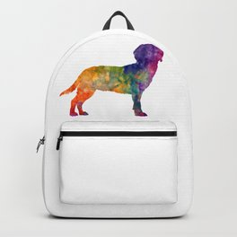 Tyrolean Hound dog in watercolor Backpack