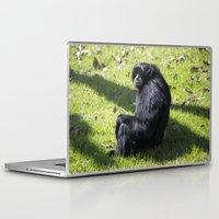 monkey Laptop & iPad Skins featuring Monkey by Veronika