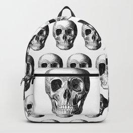 Grinning Skull Anatomical Illustration Backpack