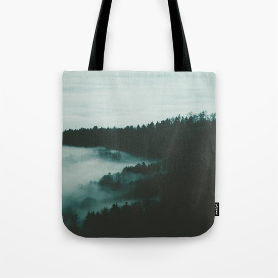 dark fog Tote Bag