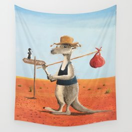 The Traveller Wall Tapestry
