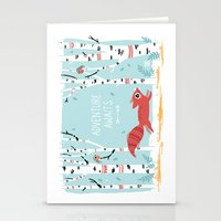 freeminds Stationery Cards featuring Adventure Awaits by Freeminds