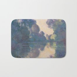 Morning On The Seine - Monet Bath Mat