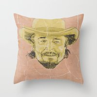 calvin Throw Pillows featuring Calvin Candie by kjell