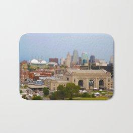 Union Station Kansas City Tilt Shift Color Photo Bath Mat