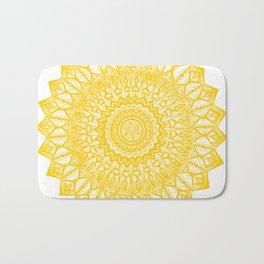 Sunshine-Yellow Bath Mat