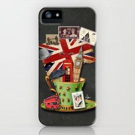 Un jour j'irai à Londres avec toi iPhone Case
