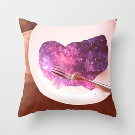spacecake Throw Pillow