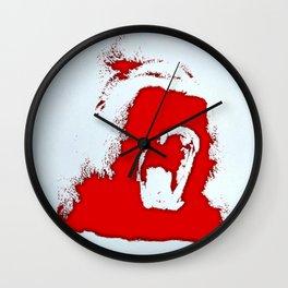 Bloody gorilla Wall Clock