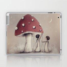 Decorating Toadstools Laptop & iPad Skin