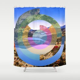 See Yourself Differently Shower Curtain