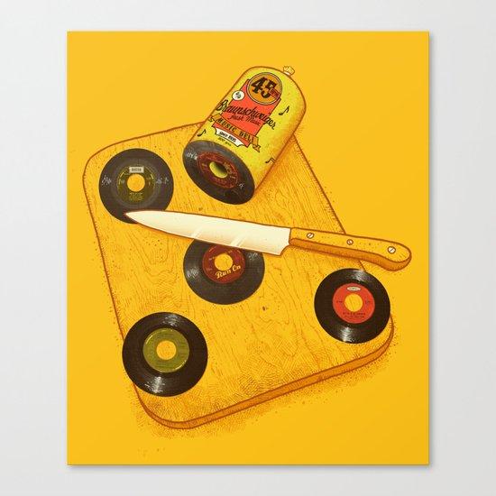 45 rpm Deli Canvas Print