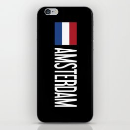 Netherlands: Dutch Flag & Amsterdam iPhone Skin