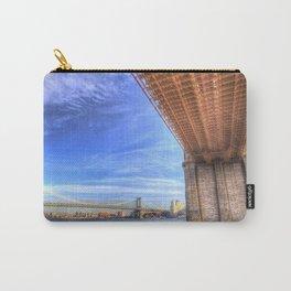 Brooklyn And Manhattan Bridges Carry-All Pouch