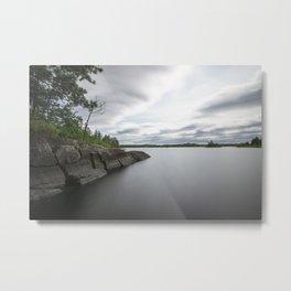 Boundary Waters Gabbro Lake Metal Print