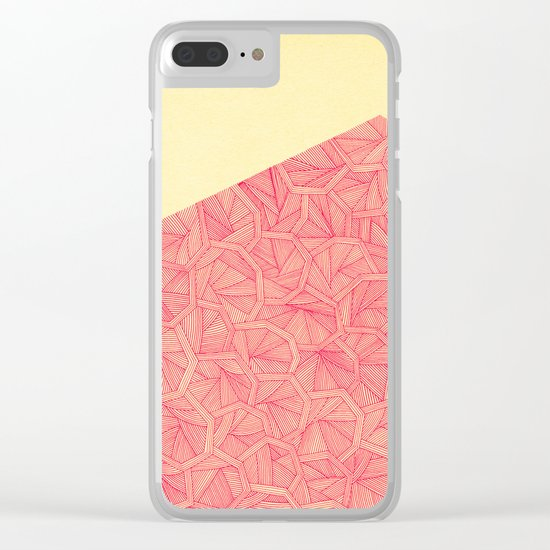 - summer : the monolith is pink - Clear iPhone Case