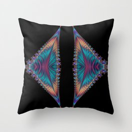 Solar Sails of My Dreams Throw Pillow