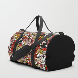 Multicolored abstract pattern. Duffle Bag