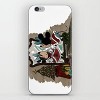 minnie iPhone & iPod Skins featuring Minnie Mouses by carotoki art and love