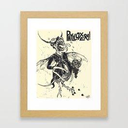 PHYLLOXERA Framed Art Print