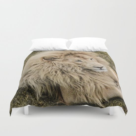Lion of Judah Duvet Cover