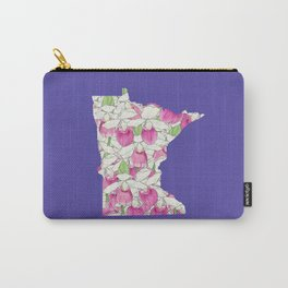 Minnesota in Flowers Carry-All Pouch