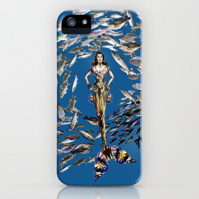 Mermaid in Monaco iPhone Case