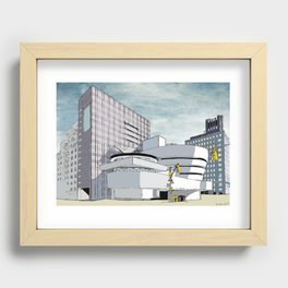 Salomon R. Guggenheim Museum, New York City Recessed Framed Print
