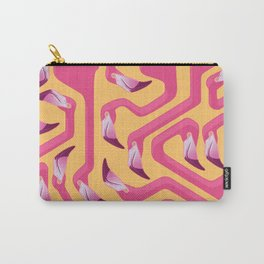 Flamingo Maze Carry-All Pouch