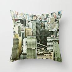 Sao Paulo Throw Pillow