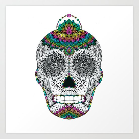 colors make us alive!  Art Print