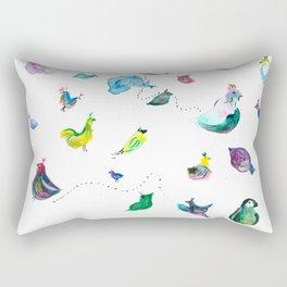 Chickens! Rectangular Pillow