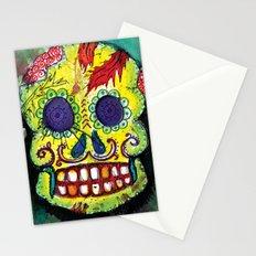 Spoiled Sugar Skull Stationery Cards