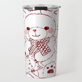 The Adventures of Bear and Baby Bear-Cats Travel Mug