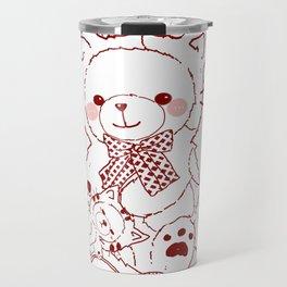 The Adventures of Bear and Baby Bear-Cats Travel Mug