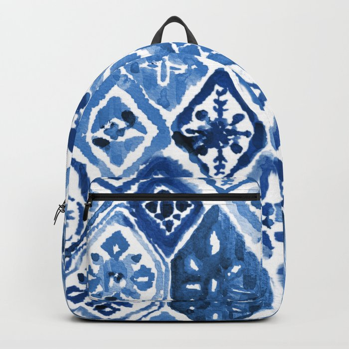 Arabesque tile art Backpack